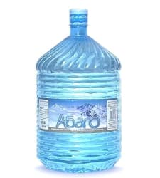 Вода Абаго 19 литров в разовой таре